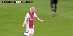 Video: Klaassen zet Ajax na moeizame start op voorsprong