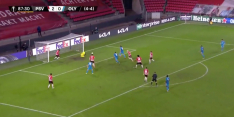 Video: late goal Olympiakos nekt PSV in de Europa League