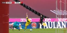 Video: enorme fout Neuer loopt maar net goed af voor Bayern