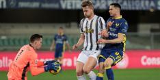 Slechts punt voor Juve na matig duel tegen Verona