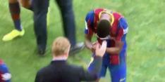 Video: Barça-talent dankt Koeman met buiginkje voor speeltijd