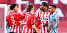 PSV krijgt te weinig tegen Ajax na topper met intense slotfase