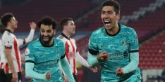 Liverpool sluit beladen week af met eerste zege in februari