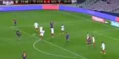 Video: Dembélé schiet Barcá heerlijk op voorsprong