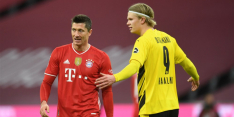Lewandowski lacht het laatst na titanenstrijd met Haaland