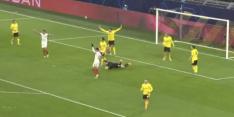 Video: Luuk de Jong versiert strafschop namens Sevilla