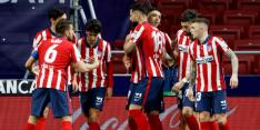Atlético Madrid wint weer eens en legt druk bij Real en Barça
