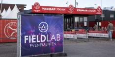 Geen coronabesmettingen bij Fieldlab-wedstrijd Almere