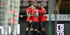 NEC blijft winnen, Jong PSV haalt genadeloos hard uit