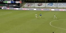 Video: Van der Heijden steelt de show met goal van grote afstand