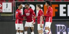 AZ legt druk bij PSV na eigen doelpuntenfestijn tegen FC Twente