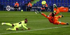 Paniek in Madrid: Atlético wint ook niet van tiental Getafe