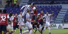Video: Ronaldo zet Juve op voorsprong met kiezelharde kopbal