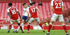 Arsenal overleeft rabona-goal Lamela en wint stadsderby