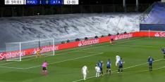 Video: Ramos gooit wedstrijd tegen Atalanta definitief op slot