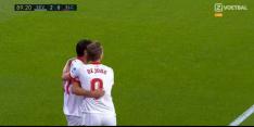 Video: Vazquez scoort voor Sevilla met zeer fraai hakballetje
