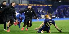 Teleurgestelde Mourinho klap in kleedkamer voor Dinamo Zagreb