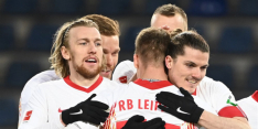 RB Leipzig houdt titelstrijd spannend met nipte zege