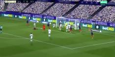 Video: Sevilla-keeper Bounou schiet gelijkmaker tegen de touwen