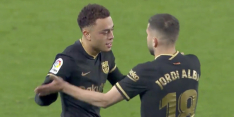 Video: Dest maakt op aangeven van Messi eerste goal in LaLiga