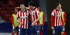 Goed nieuws Atlético Madrid richting de spannende titelweken