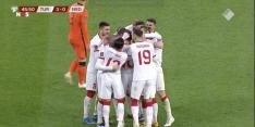Video: Oranje komt 33 seconden na rust op een 3-0 achterstand