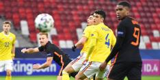 De Wit voelt extra druk na gelijkspel tegen Roemenië
