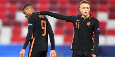 Ook Jong Oranje stelt teleur, maar pakt wel punt tegen Roemenië