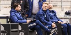 Feyenoord met Kuijt langs de lijn onderuit tegen Willem II