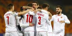 Montenegro pakt tijdelijk koppositie in poule Oranje