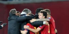 Spanje ontsnapt in extremis aan nieuwe misstap tegen Georgië