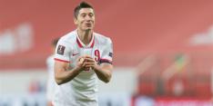 Polen sluit interlandperiode af zonder geblesseerde Lewandowski