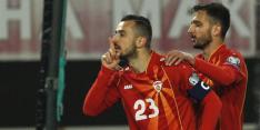 Noord-Macedoniër na opmerkelijk juichgebaar naar huis gestuurd