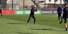 Feyenoord-keepers gaan stuk om ongelukje op 'zonnebril-training'