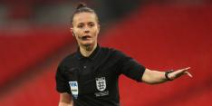 Vrouwelijke scheidsrechter Welch debuteert in Engels profvoetbal