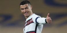 Aanvoerdersband woedende Ronaldo geschonken aan goed doel