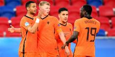 Jong Oranje declasseert Hongarije en pakt groepswinst op EK