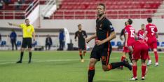 Oranje werkt op Gibraltar aan doelsaldo na treurig uitvallen Blind
