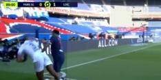 Video: Neymar is frustratie niet de baas en ontvangt rode kaart