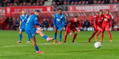 Late penalty helpt Vitesse aan gedeelde derde plaats
