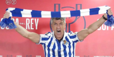 Video: coach Sociedad scheeuwt clublied na gewonnen beker