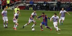 FC Barcelona ontsnapt en nadert Atlético Madrid tot één punt