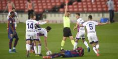 Woedend Real Valladolid voelt zich bestolen door arbitrage