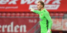 """Houwen wil eerste keeper Vitesse worden: """"Ik zat in een dal"""""""