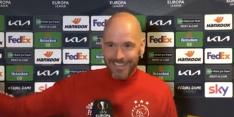 Video: Erik ten Hag reageert dolenthousiast na vraag over Italië