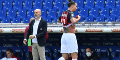 Rode kaart Ibrahimovic tijdens moeizame zege Milan