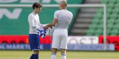 """Van Bergen grijpt naast shirt Robben: """"Hij zat te huilen in de bus"""""""
