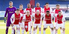 Ajax pakt met de beker voor het eerst ooit vierde hoofdprijs op rij