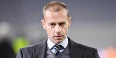 """Ceferin dreigt met Super League-straf: """"Gerechtigheid komt altijd"""""""