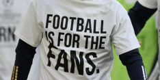 Boze supporters Leeds United verbranden shirt Liverpool